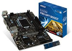 MSI B250M Pro Optane Boost Motherboard