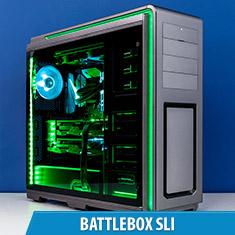 PCCG Battlebox 1080 Ti SLI Gaming System