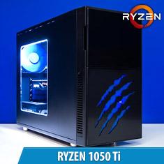 PCCG Ryzen 1050 Ti Gaming System