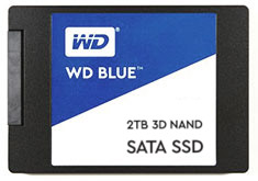 Western Digital Blue 2.5in SATA SSD 1TB