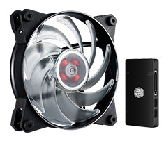 Cooler Master MasterFan Pro 120 Balance RGB (x3) with Controller