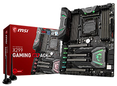 MSI X299 Gaming M7 ACK Motherboard
