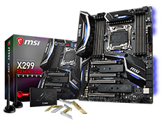 MSI X299 Gaming Pro Carbon AC Motherboard