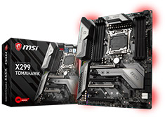 MSI X299 Tomahawk Motherboard