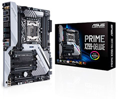 ASUS Prime X299 Deluxe Motherboard