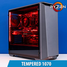 PCCG Tempered 1070 Gaming System