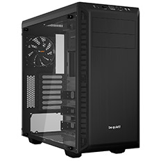 be quiet! Pure Base 600 TG Case Black