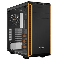 be quiet! Pure Base 600 TG Case Orange