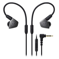 Audio-Technica ATH-LS70iS In-Ear Headphone with In-Line Mic
