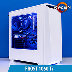 PCCG Frost 1050 Ti Gaming System