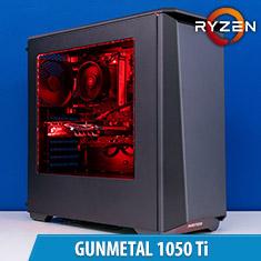 PCCG Gunmetal 1050 Ti Gaming System
