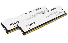 Kingston HyperX Fury HX421C14FW2K2/16 16GB (2x8GB) DDR4 White