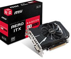 MSI Radeon RX 560 16CU Aero ITX OC 4GB