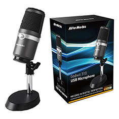AVerMedia AM310 Plug & Play USB Microphone