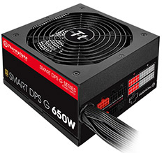 Thermaltake Smart DPS G 80 Plus Gold 650W Power Supply
