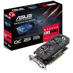 ASUS Radeon RX 560 16CU Overclocked 2GB