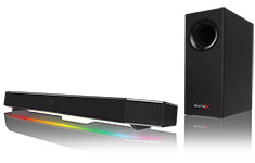Creative Sound BlasterX Katana RGB Multi-channel Gaming Soundbar