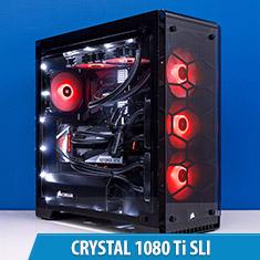 PCCG Crystal SLI Gaming System