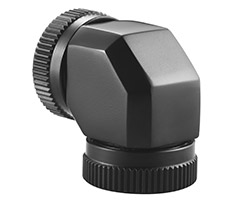 Phanteks 12mm Hard Tube Adapter 90 Degree Black