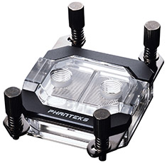 Phanteks Glacier C350a CPU Water Block Black