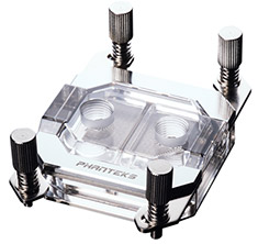 Phanteks Glacier C350a CPU Water Block Chrome