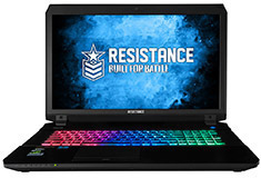 Resistance VR Striker Core i7 15.6in Gaming Notebook
