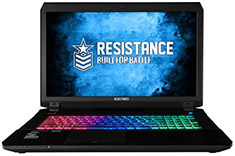 Resistance VR Striker Core i7 17.3in Gaming Notebook