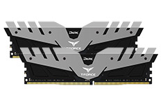 Team T-Force Dark 3000MHz 16GB (2x8GB) DDR4 Grey Black