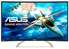 ASUS VA326H VA Curved 144hz Adaptive-Sync Gaming Monitor
