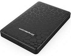 Simplecom SE101 USB 3.0 HDD/SSD Enclosure Black