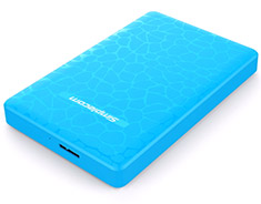 Simplecom SE101 USB 3.0 HDD/SSD Enclosure Blue