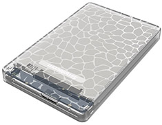 Simplecom SE101 USB 3.0 HDD/SSD Enclosure Clear