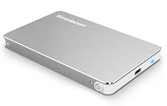 Simplecom Aluminium USB 3.1 Type-C HDD/SSD Enclosure Silver