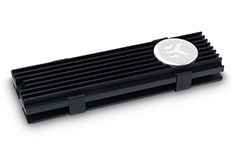 EK M.2 NVMe Heatsink Black