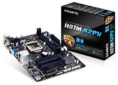 Gigabyte GA-H81M-S2PV Motherboard