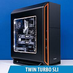 PCCG Twin Turbo SLI Gaming System