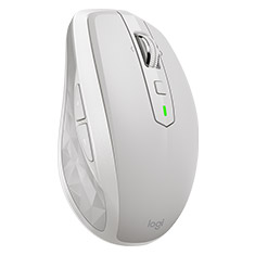 Logitech MX Anywhere 2S Wireless Mobile Mouse Light Gray