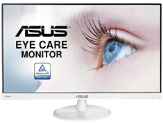 ASUS VC239H 23in Widescreen Eyecare LED Gaming Monitor White
