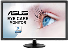 ASUS VP247HA FHD 24in VA Eyecare Monitor