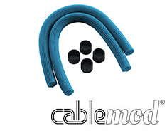 CableMod AIO Sleeving Kit for Corsair Hydro Light Blue