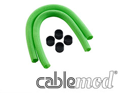 CableMod AIO Sleeving Kit for Corsair Hydro Light Green