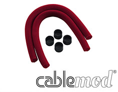 CableMod AIO Sleeving Kit for Corsair Hydro Red
