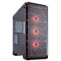 Corsair Crystal 570X RGB Red ATX Case