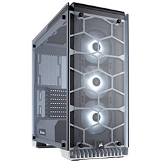 Corsair Crystal 570X RGB White ATX Case