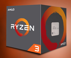 AMD Ryzen 3 1200 Processor with Wraith Stealth