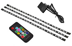 Deepcool RGB Colour LED 380 Strip Lighting Kit With Remote