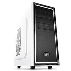 Deepcool Tesseract Mid Tower Chassis White