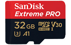 SanDisk Extreme PRO microSDHC UHS-I 32GB