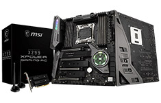 MSI X299 XPOWER Gaming AC Motherboard