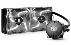 Deepcool Maelstrom 240T AIO Liquid Cooler White LED Fan